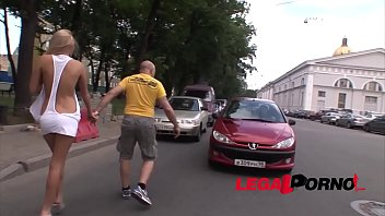 Russian Bitch Ivana Sugar picked up in the street & assfucked by a Monster cock!
