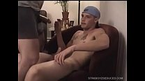 Straight Boy Buzz Eats Cum 8 min