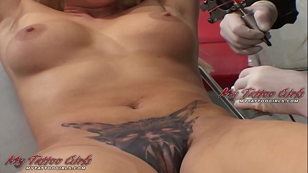 Extreme Model Alira Astro Gets Her Pussy Tattooed 12 min