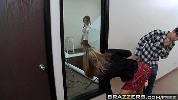 Big Tits at School -  Sassy Bitch scene starring Amber Ashlee and Charles Dera