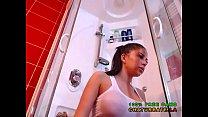 Bubble Butt Babe has Shower Rubbing Boobs on Cam @ www.chaturbate.la
