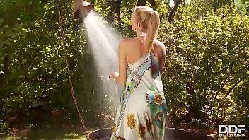 Busty UK Glamour Babe Danielle Maye HOT closeup Masturbation! 20 min