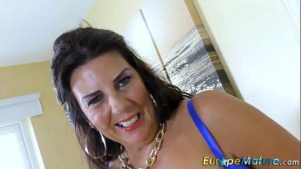 EuropeMaturE Busty Mature Lulu Lush and Huge Boobs 8 min