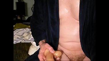 anal dildo workout