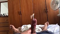 Huge arab Cumshot