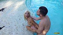 SCREWBOX - Elizabeth Jolie gets fucked hard in the pool