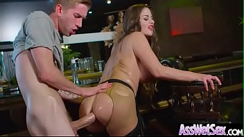 Deep Anal Hard Sex With Big Round Butt Oiled Up Girl (Cathy Heaven) vid-11