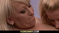 He leaves and horny mom seduces his GF 6 min