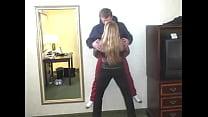 Girl Manhandles Guy