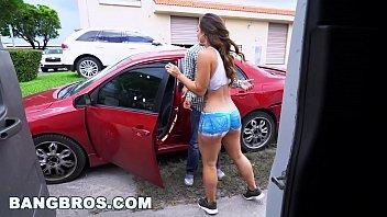BANGBROS - Big Booty Latina Kelsi Monroe's Reverse Bang Bus Part 3
