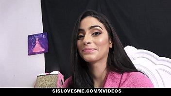 SisLovesMe - Teen Stepsister (Jasmine Vega) Bribed To Suck My Cock