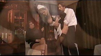 2 maid servant anal sex orgy