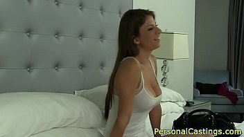 Bigtits casting amateur gets banged in pov