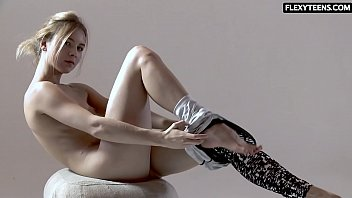 Sexy ass gymnast Rita