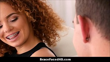 Cute Thick Black Teen New Braces