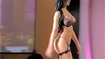 Davalos Twins, Beauty Perfection - Slow motion, Best Ever Fashion Show! Besame Lingerie 1080P