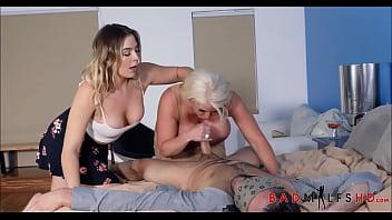 Mom Daughter Boyfriend Hot Threesome