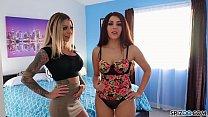 Spizoo - Karma Rx and Valentina Nappi fuck and suck a big dick, big booty
