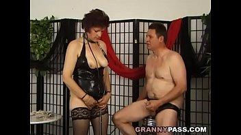 Kinky German Granny Suck Dick