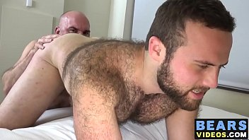 Hairy fuckers Dante Kirkdale and Sam Steinhaus get busy