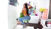 Latina diva has leg shaking anal orgasms - Lilly Hall