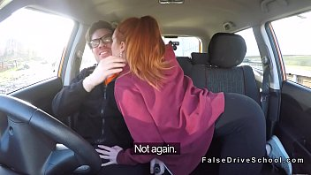 Pale driving student bangs big dick (Stор Jerking Off! Join Now: H‌otDa​ting24.com)