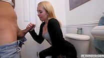 Stepmom Aaliyah Love gave stepson a hot blowjob