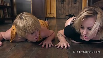 Mom and teen anal bdsm threesome fucked