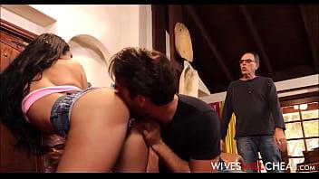 Cheating Teen Wife Katrina Jade Caught Husband Watches Cuckold