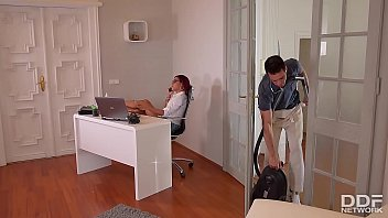 Rose Valerie's Anal Office Cleaning With Kai Taylor's Long Pipe 21 min