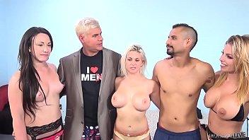 Lucky Fan Fucks Hot Pornstars - Rachel Roxxx, Britney Amber & Jennifer White