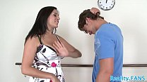 Seductive stepmom banged by stepson