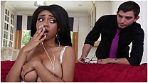 BANGBROS - Busty Teen Brittney White Caught By Boss, Needs To Keep Her Job