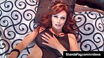 Horny Cougar Shanda Fay Helps Cock Fuck Her Moist Hot Cunt!