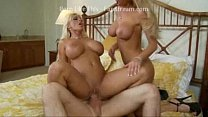 Tanya James & Holly Halston - Double Decker Sandwich