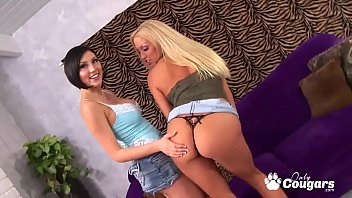 Cassie Young and Mindy Main Pleasure Each Others Pussies