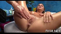 Those 3 girls drilled hard by their massage therapist after getting a soothing rubdown