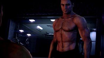 Shepard and Kaidan Sex Scene - ME 3 Remastered