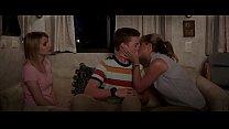Celebrity jennifer aniston kiss a teenage boy scene we're the millers