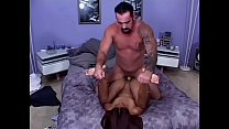 White guy wake up with asian hooker Lyla Lei deep throat blowjob