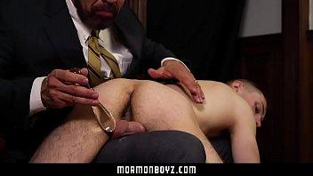 MormonBoyz - Daddy Spanks Cute Mormon