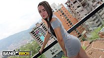 BANGBROS - Young Colombian Amateur, Valeria, Wants To Be A Pornstar