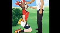 Pokemon - May // Hakura : Super Deepthroat