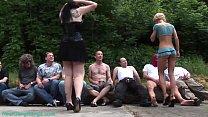 extreme rough german groupsex orgy