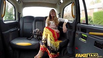 Fake Taxi Sex addict Stacey Saran fucks in taxi