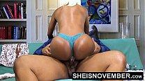 Pornstar Msnovember Riding Her Slim Hips With Big Ass Ebony Hardcore Fuck HD Sheisnovember 4 min