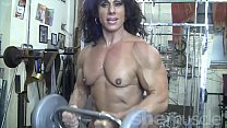Naked Female Bodybuilder Kiss My Naked Muscles
