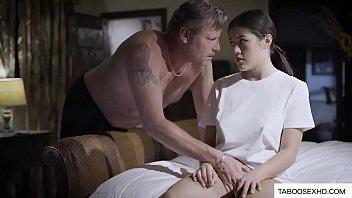 Abusive father stepdaughter to fuck