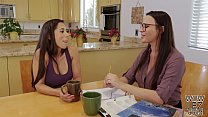 Tutoring turns into lesbian sex - Dana DeArmond and Reena Sky