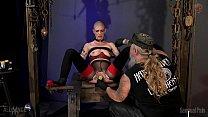 Veggie Orifice Stuffed slave sex part 1